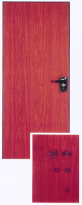 железная дверь пуленепробиваемый